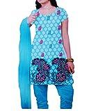 Khushika Women's Cotton Unstitched Dress...