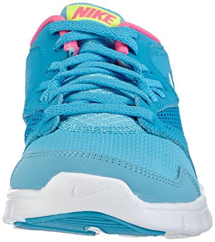 Nike Nike flex experience 3 (gs), 653698 Mädchen Laufschuhe Blau (Clearwater/white-bl lgn-pnk pw 400)