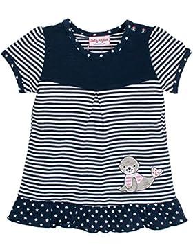 SALT AND PEPPER Baby-Mädchen T-Shirt Bg Tunic Stripes