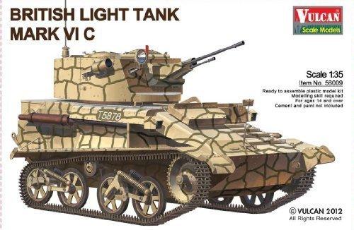 vulcan scale models 1/35 mk vi c Light Tank kit