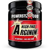 ARGININ HIGH END - 500g Pulver hochdosiert - reinstes L-Arginine mit Vitamin B6, B2 und Eisen - beliebtes Pre-Workout-Produkt für intensive Workouts - deutsche Herstellung - top Geschmack (Cherry)