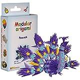 Origami modulaire 316-Pièces - Set papier petit paon, multicolore