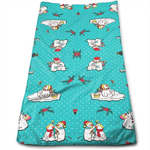 Snowmen Titan Design Multi-Purpose Microfiber Towel Ultra Compact Super Absorbent and Fast Drying Sports Towel Travel Towel Beach Towel Perfect for Camping, Gym, Swimming.