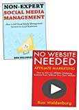 Non-Experts Online Marketing Ideas: Create Your First Internet Business Without a Website & Without Any Expertise (English Edition)
