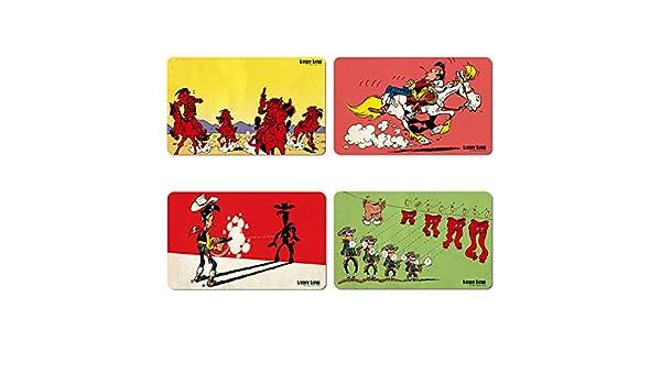 Design original sous licence LOGOSHIRT Ensemble de planches /à petit-d/éjeuner Tom et Jerry Ensemble de 4 planches /à d/écouper Tom /& Jerry