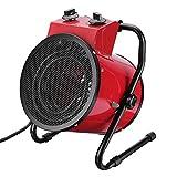 YSCCSY Ventilatore Elettrico Industriale 3000W Ventola riscaldatore Commerciale Regolabile Regolabile Aria Officina Spazio Garage Apparecchi di Riscaldamento 220V