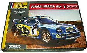 Desconocido Heller Classic 80761  - Subaru Impreza WRC 2001, 70 partes