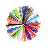 Comix 200m/656.2ft 3D Printing Pen ABS Filament Refill 1.75mm Children Christmas Gift (20 Assorted Colors Sent at Random)