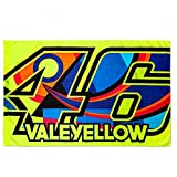 VR46 Rossi Valeyellow Flag, Yellow, One Size, VR265803