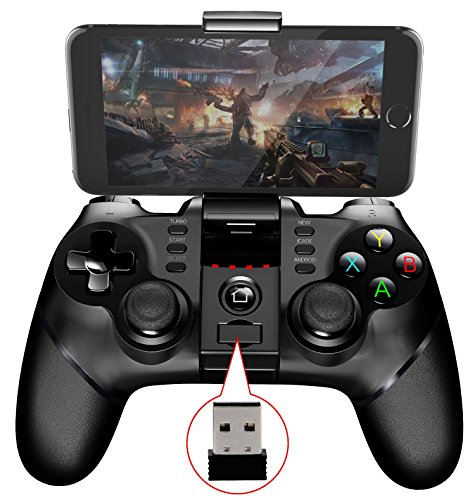 2.4G iPEGA PG-9076 Bluetooth Gamepad Wireless Telescopico Joystick del Controller di Gioco per Android Telefoni and Tablet and Windows PC