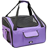 Me & My Pets Cat/Dog Car Seat/Carrier - Purple