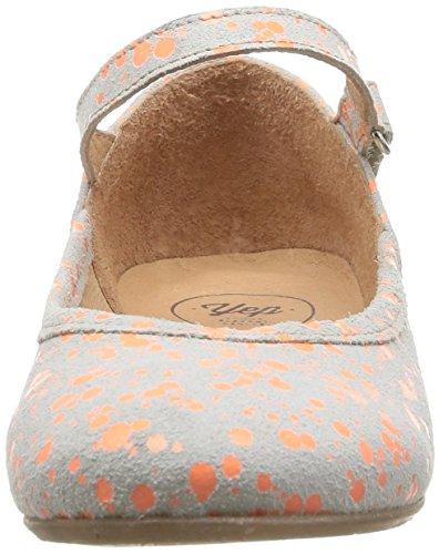 Yep Aceline Mädchen Ballerinas Gris (Taches Orange)