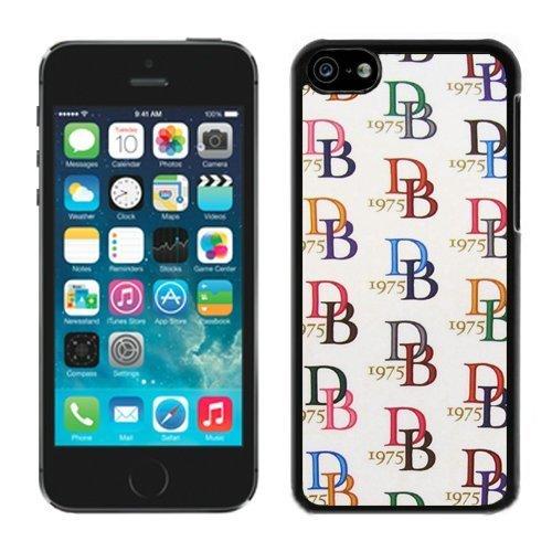 dooney-bourke-db-3-negro-iphone-5c-funda-original-cubierta-de-encargo