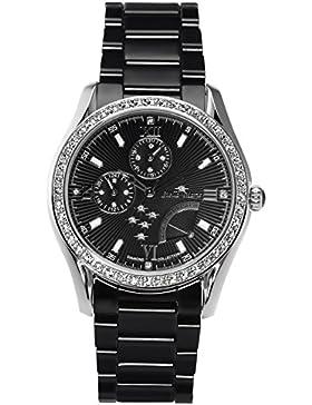 Stella Maris Damen-Armbanduhr Analog Quarz Premium Keramik Diamanten - STM15M4