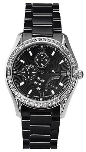 Stella Maris STM15M4 - Reloj de Cuarzo con Correa de cerámica para Mujer, Color Negro