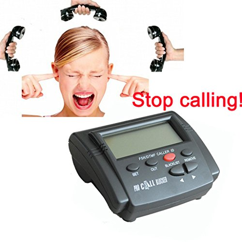 KESOTO Potente Blocco delle Chiamate, capacità di 1500 Numeri, Interruzione di Tutte Le Chiamate A Freddo per Telefoni Fissi Telefoni di Rete Fissa Antichi