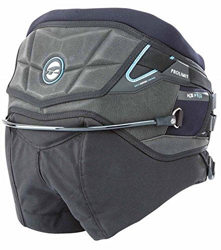 Prolimit Pro Kite Sitztrapez black/alloy blue L 52