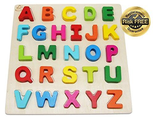 Puzzle di giocattoli da bambini in legno per bambini da 2 a 3 anni con grandi numeri di colori luminosi 0-9; Think Calculate Girl, Boy Learning Resources; Nome educativo, giocattoli di apprendimento della scuola materna di puzzle di forma per i bambini