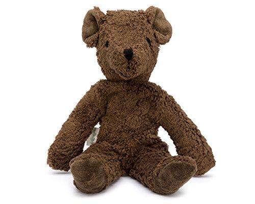 ls - Teddy Bear - Handmade 100% Organic Toy (Brown - 12 Inches Tall) (Brown Teddy Bear)