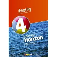 Horizon maths, 4eme : Manuel grand format