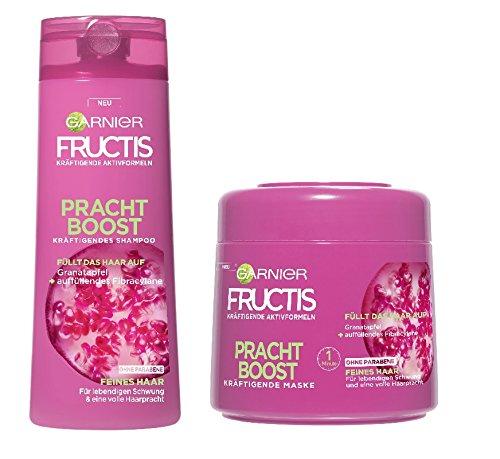 Garnier Fructis Pracht Boost Pflege SET (Shampoo 250ml, Maske 300ml)