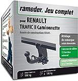 Rameder Attelage rotule démontable pour Renault TRAFIC II Camionnette + Faisceau 13...