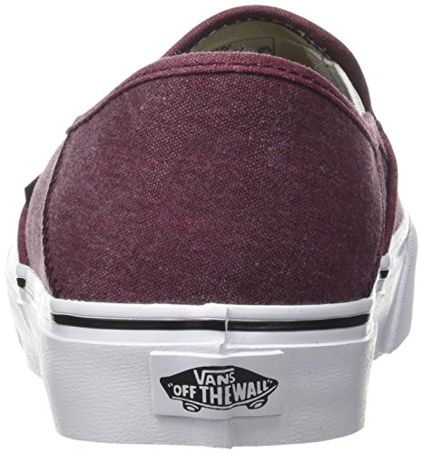 Vans Mn Slip-On Sf, Sneakers Basses Homme Rouge (Washed Port Royale)