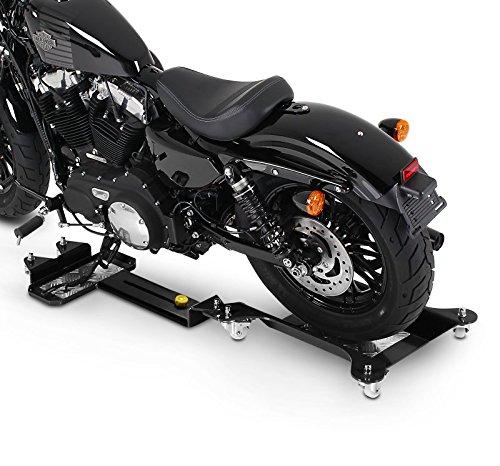 Peana Aparcamiento Yamaha XVS 650 A Drag Star Classic ConStands M3 negro ajustable