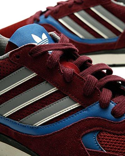 adidas Herren Quesence Fitnessschuhe, Hellgrau rot (Granat / Azutra / Negbás 000)