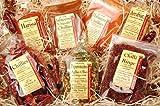 Geschenkideen Suche  - Bremer Gewürzhandel - Genuss Box Scharfe Momente 7 Sorten 450 Gramm - Geschenkbox mit scharfen Chili-Gewürzen - ohne Geschmacksverstärker