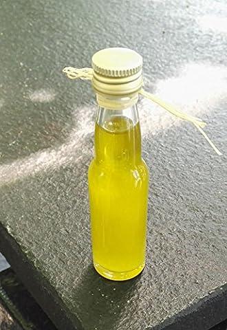 ARISTOS 20ml Olivenöl Probiermenge | kaltgepresstes natives Olivenöl extra | sortenrein Koroneiki | chargenrein ohne Beimischung | frische Ernte Dezember 2016 | ungefiltert + naturtrüb | Griechenland