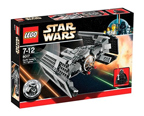 LEGO - 8017 - Jeu de construction - Star Wars - Darth Vader's TIE Fighter