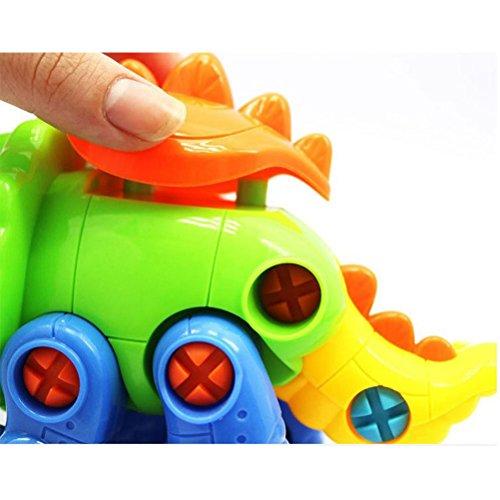 NUOBESTY Zum Mitnehmen von Toys Dinosaurs Models Engineering Kit mit Tools Geschenk für Kinder (Model Kit Dinosaur)