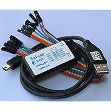 USB Saleae Logic Analyzer,24M 8CH Saleae 24MHz 8Channel Logic Analyzer,saleae 24M 8CH,Latest support 1.1.15 /support 1.1.16