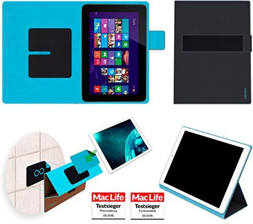 reboon Hülle für HP Omni 10 Tasche Cover Case Bumper | in Schwarz | Testsieger