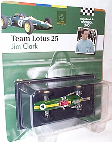 f79215636a2e atlas editions F1 collection team lotus 25 jim clark racing car 1.43 scale  diecast model