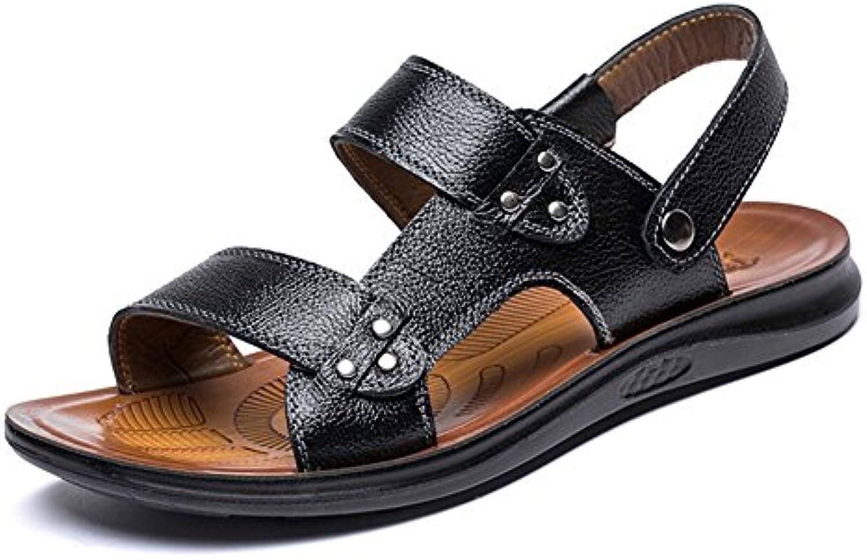Zapatos de Hombre 2018 Nuevo Estilo Exterior/Casual Confort Sandalias de Playa Marrón/Negro/Amarillo