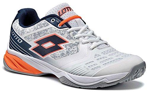 Lotto Sport Esosphere Ii Alr, Chaussures de Tennis Homme Weiß (WHT/BLU Avio)