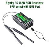 Flysky FS-i6X 2.4G 10CH AFHDS 2A RC Sender mit Fs-iA6B Empfänger