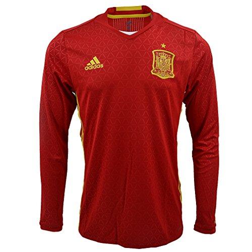 adidas Performance:Trikot Spanien offiziell FEF UEFA 2016 FEF H JSY PL Rot AA0852