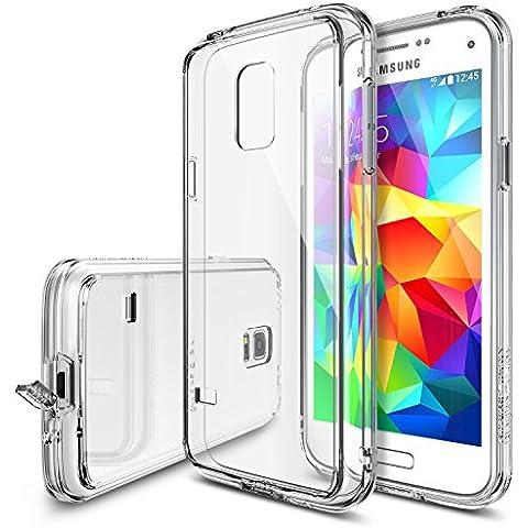 Rearth Ringke Fusion - Carcasa trasera personalizable para Samsung Galaxy S5 Mini, transparente