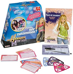 Jumbo - Juego de diseño Hannah Montana (8710130000000) Importado de Alemania