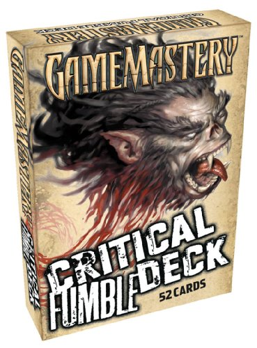Critical Fumble Deck (Gamemastery)