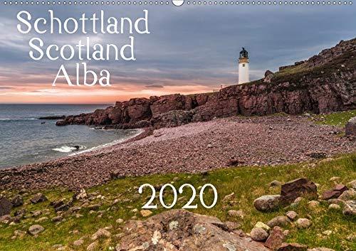 Schottland - Scotland - Alba (Wandkalender 2020 DIN A2 quer): 13 brillante Bilder zeigen Schottlands faszinierende Landschaft auf beeindruckende Weise. (Monatskalender, 14 Seiten ) (CALVENDO Orte) -