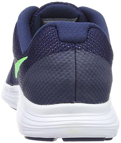 Nike Deep Royal Blue / Vltg Green-Wht, Scarpe da Corsa Bambino Blu (Azul (Deep Royal Blue / Vltg Green-Wht))