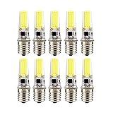 Lampadine a doppio ago con lampada al silicone E17 a LED, lampadina a risparmio energetico COB da 3 W (lampada alogena sostitutiva equivalente da 30 W) CA 220-240 V, (confezione da 10) yd&h