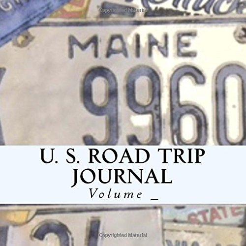 U. S. Road Trip Journal: Maine Cover (S M Road Trip Journals)