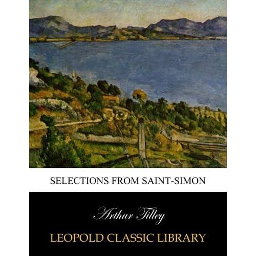 Selections from Saint-Simon