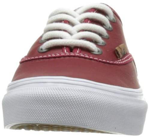 Vans U AUTHENTIC SLIM  (MOC) RIO RED/T, basket mixte adulte Rouge (Rot Red)