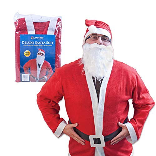 The Christmas Workshop Deluxe Santa Anzug
